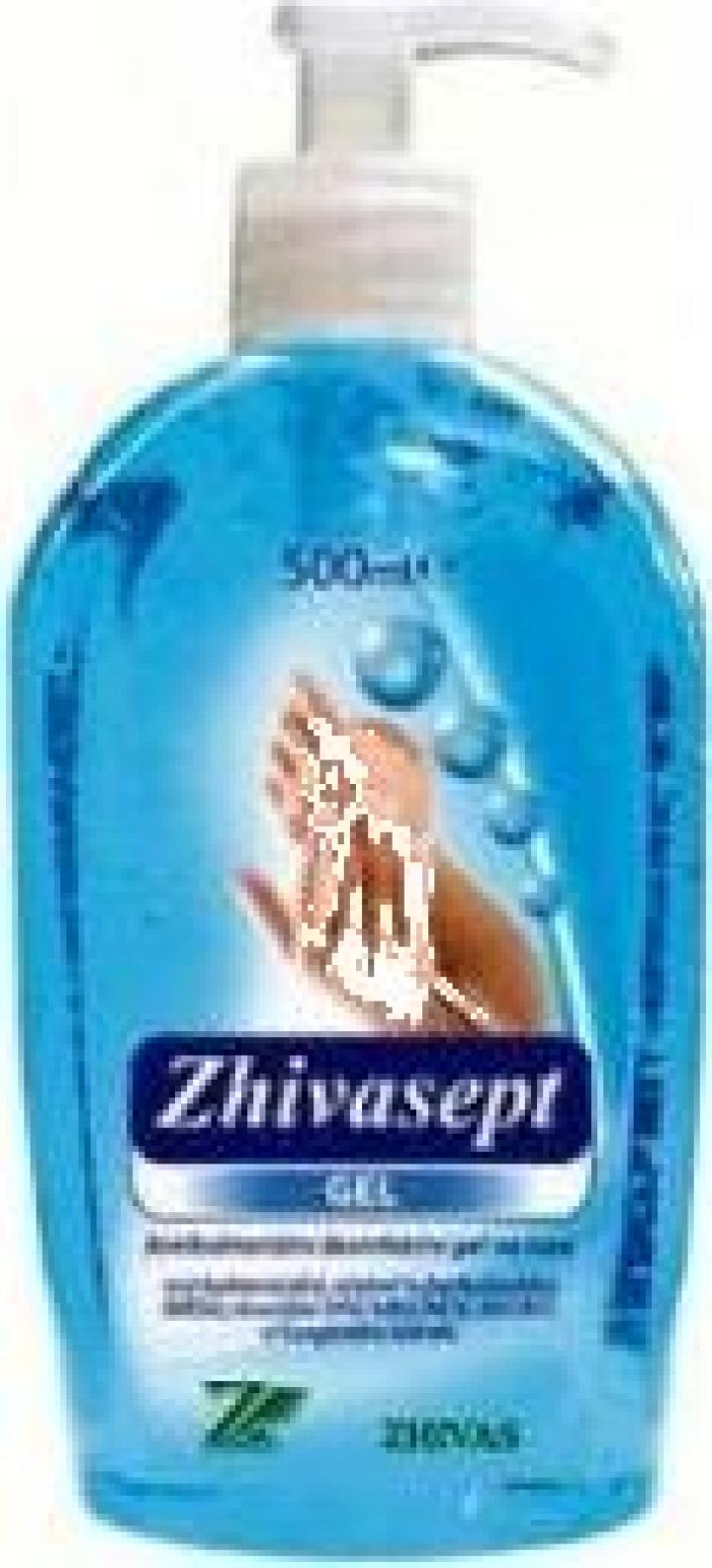 Gel dezinfectant maini Zhivasept Gel
