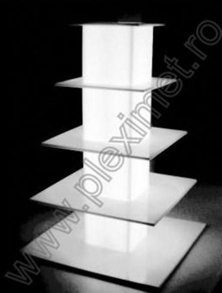 Suport turn cu 5 nivele pentru prajituri SPEv 7