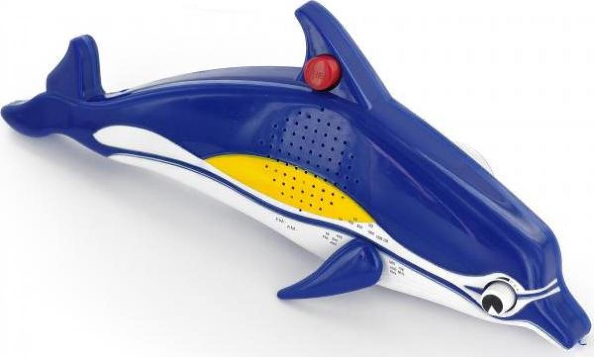 Radio pentru dus Delfin