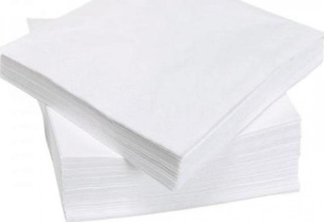 Servetele albe 33x33cm, 250buc/set