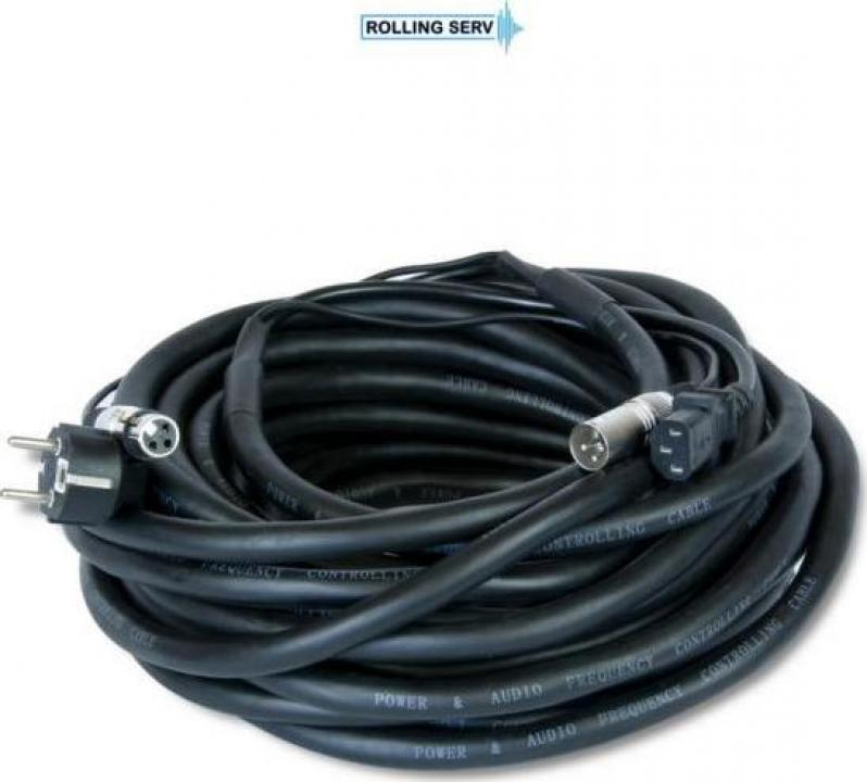 Cablu semnal si alimentare Master Audio PMC622/10