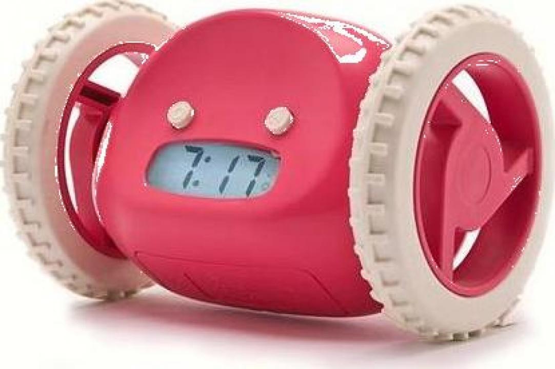 Ceas cu alarma care fuge