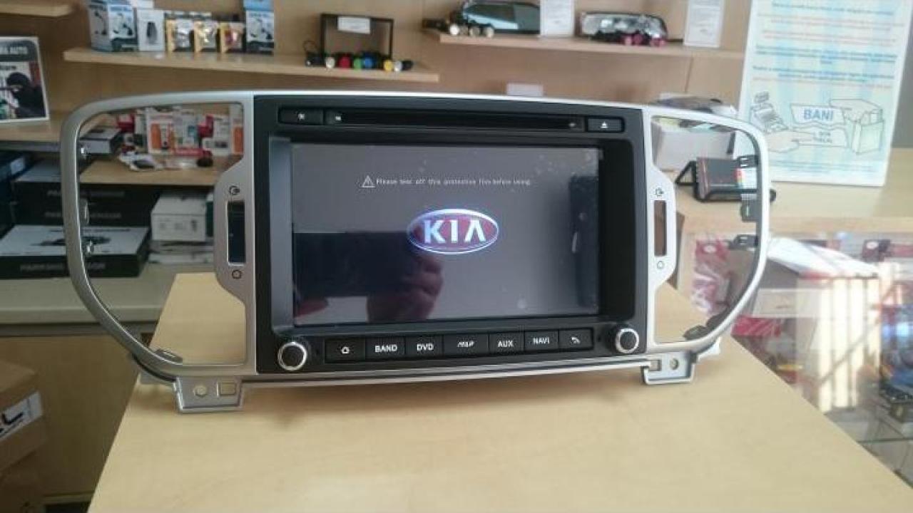 Sistem navigatie Kia Sportage 2016 cu Android
