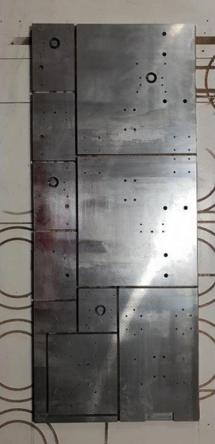 Rutare CNC aluminiu