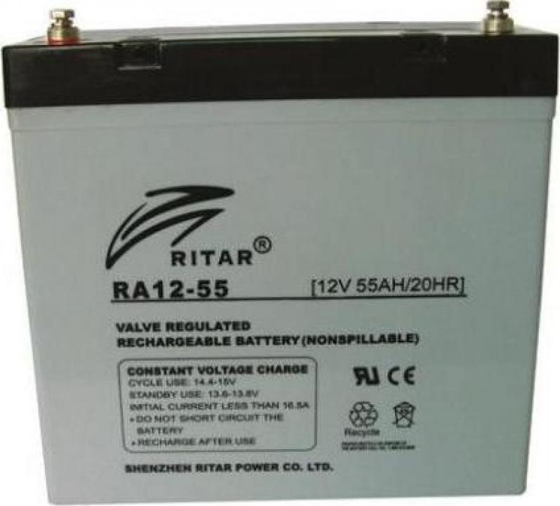 Baterie carut handicap 12V / 55AH