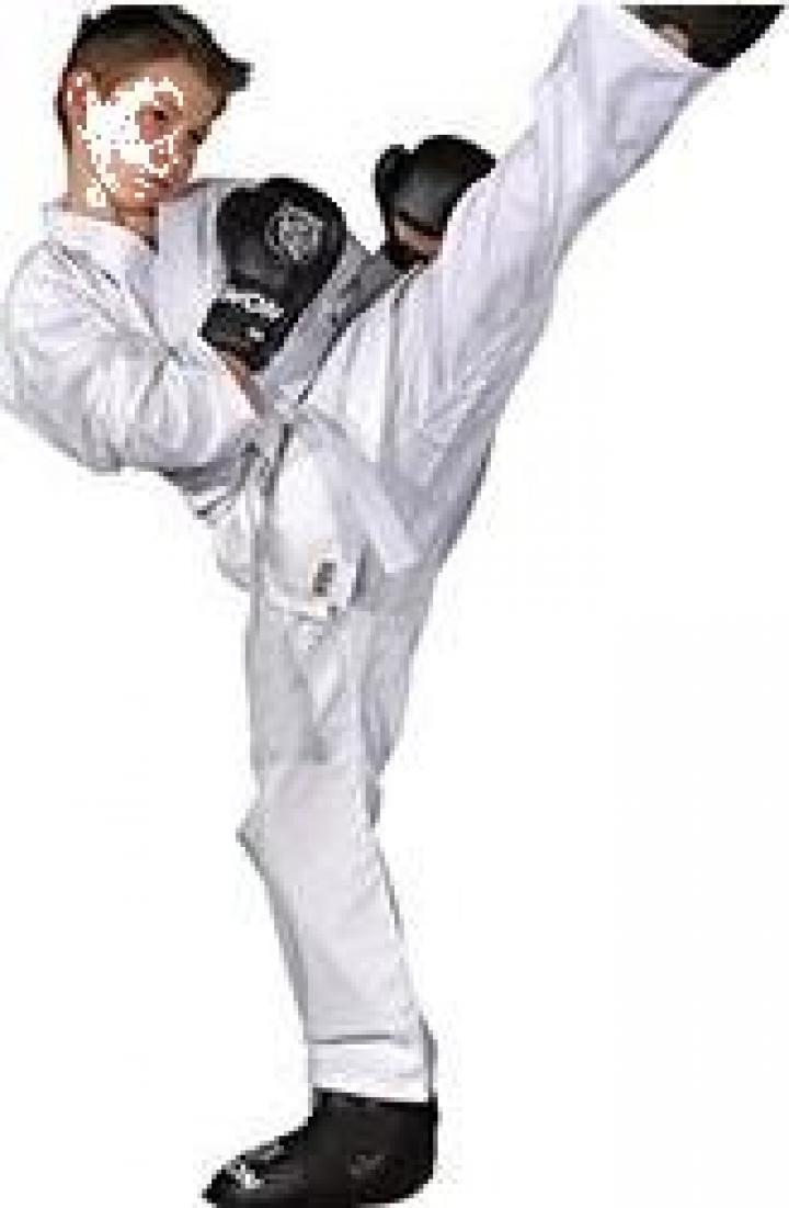 Kimono karate Kwon copii cu centura inclusa
