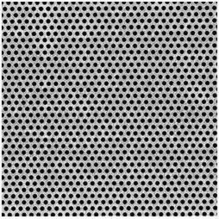 Tabla inox perforata 0.8x1000x2000mm R3T5 RV 3-5 gaurita