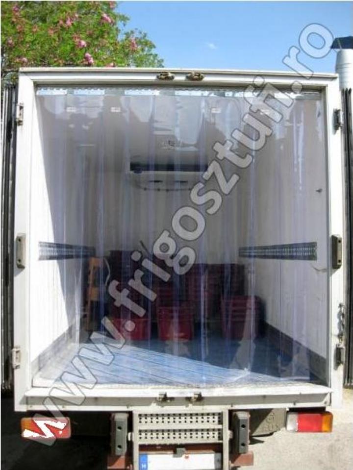 Perdea fasii PVC pentru autoutilitare frigorifice