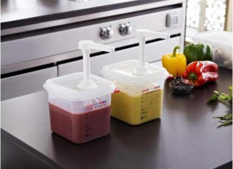 Dispenser din polipropilena pentru sosuri 1.5 litri