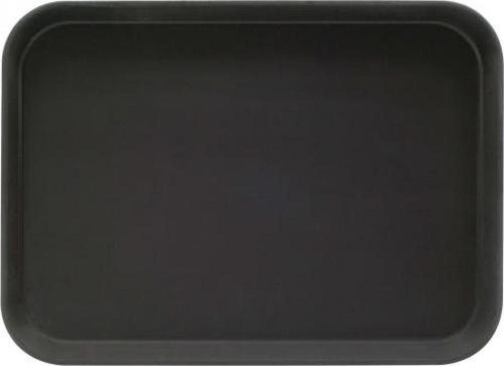 Tava neagra dreptunghiulara pentru servire 405x305 cm
