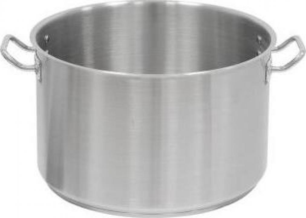Cratita inox fara capac 31.4 litri