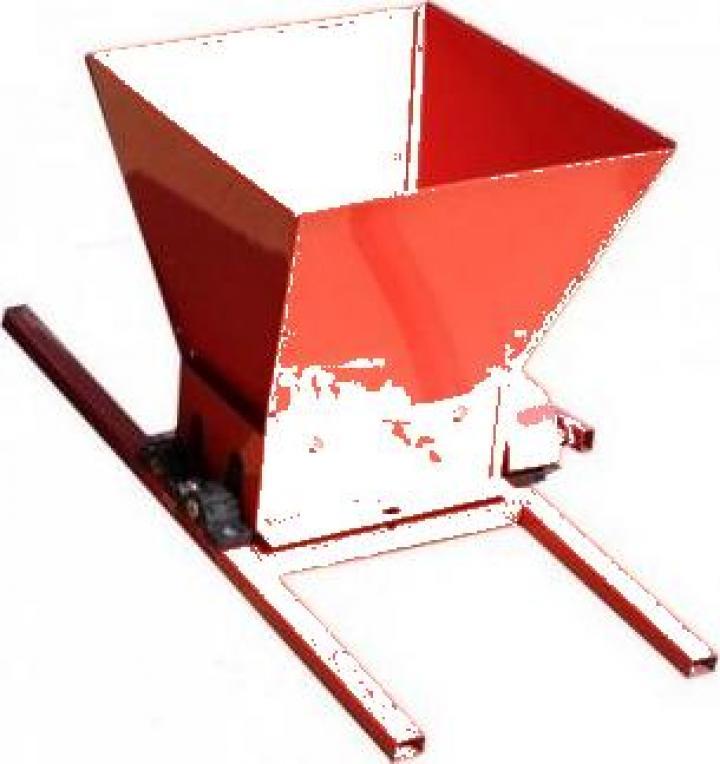 Zdrobitor struguri Fermer HGP-50, cuva 25 litri