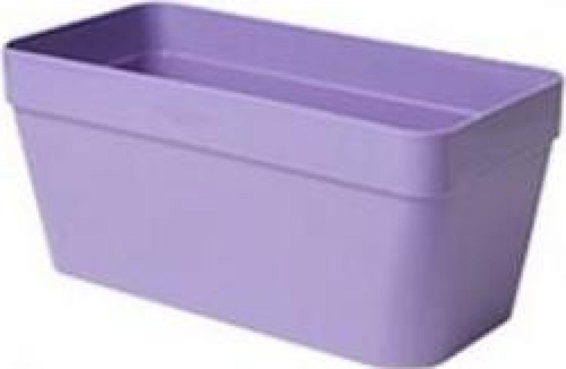 Ghiveci plastic Strend Pro ICS Pandora 18x15 cm, violet