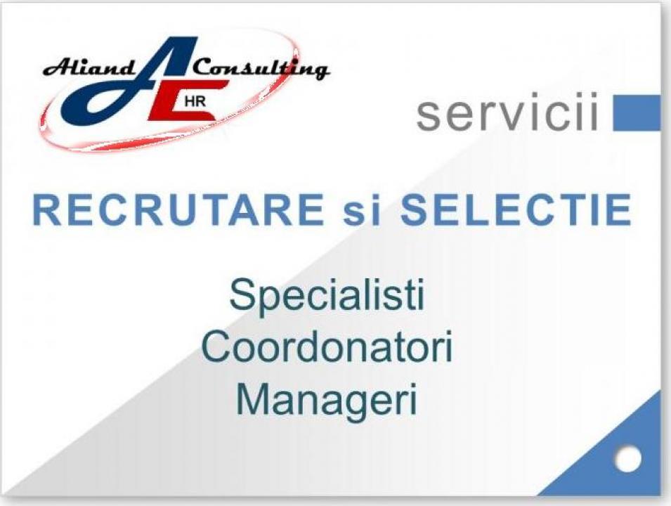 Recrutare specialisti si manageri