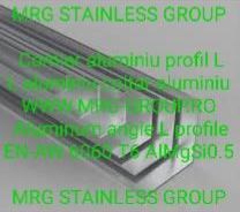 Cornier aluminiu 30x30mm profil L coltar aluminiu alama inox