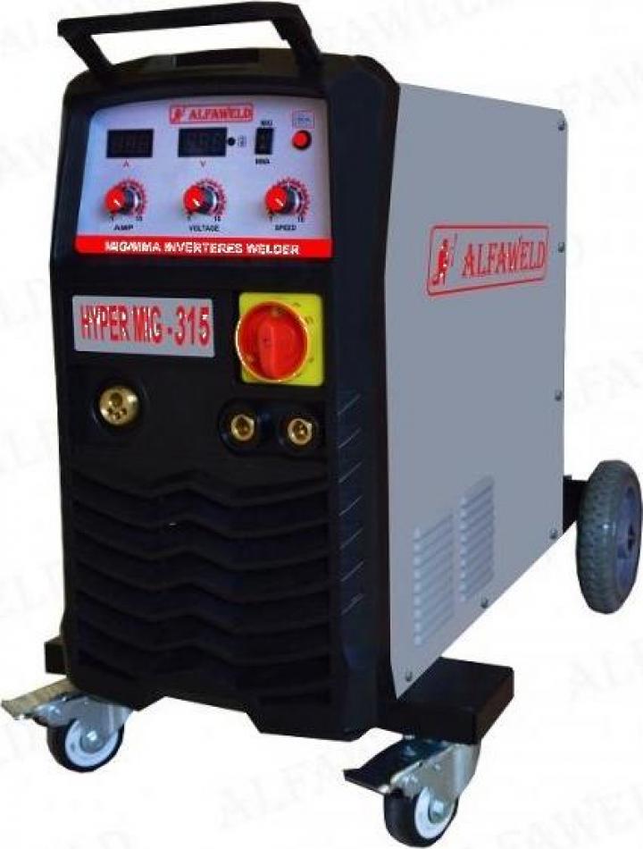 Invertor sudura AlfaWeld MIG-MAG Hypermig 315A