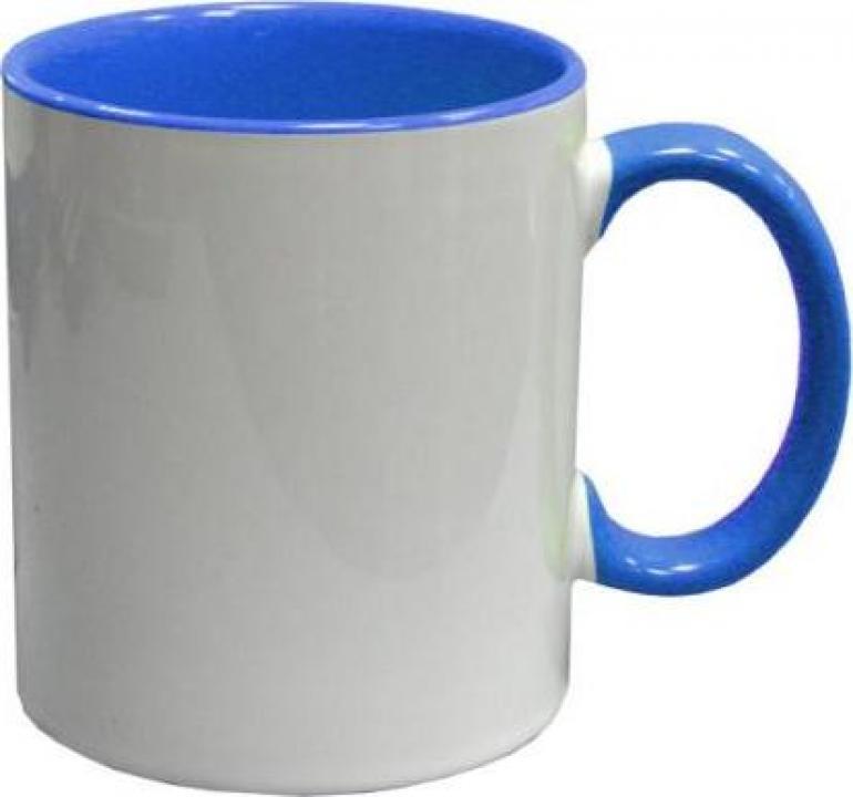 Cana color albastru deschis