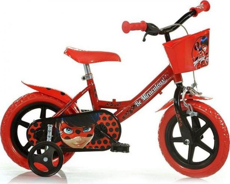Bicicleta copii 12'' Miraculos-Buburuza