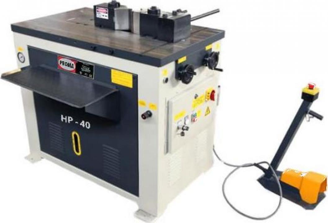 Presa orizontala hidraulica HP-40