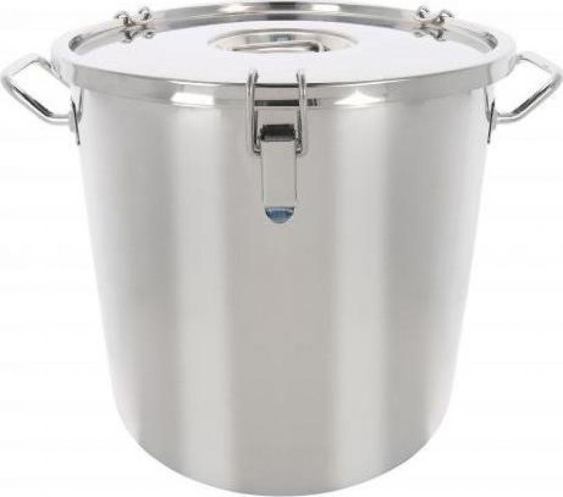 Marmita inox transport hrana 36 litri