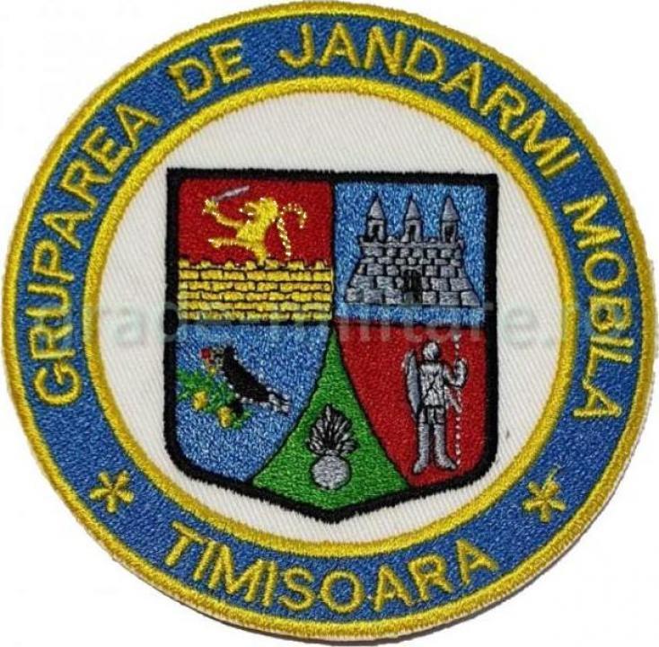 Emblema Gruparea de Jandarmi Mobila Timisoara