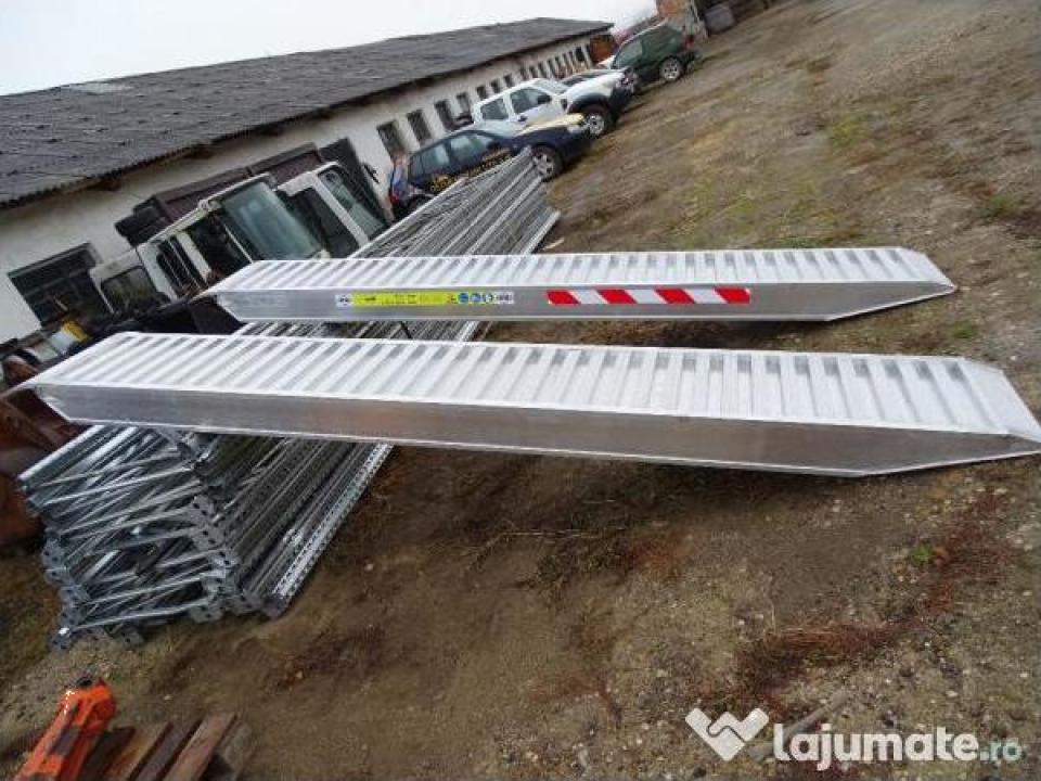 Rampe aluminium 9 tone la 4 m