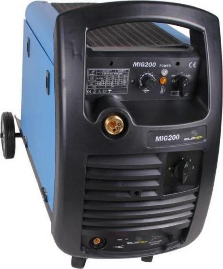 Aparat de sudura transformator Mig-Mag Flux 200A