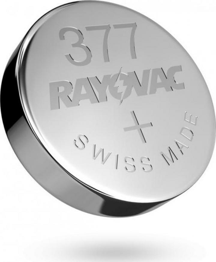 Baterii ceas Rayovac 377 (AG4) cu oxid Argint