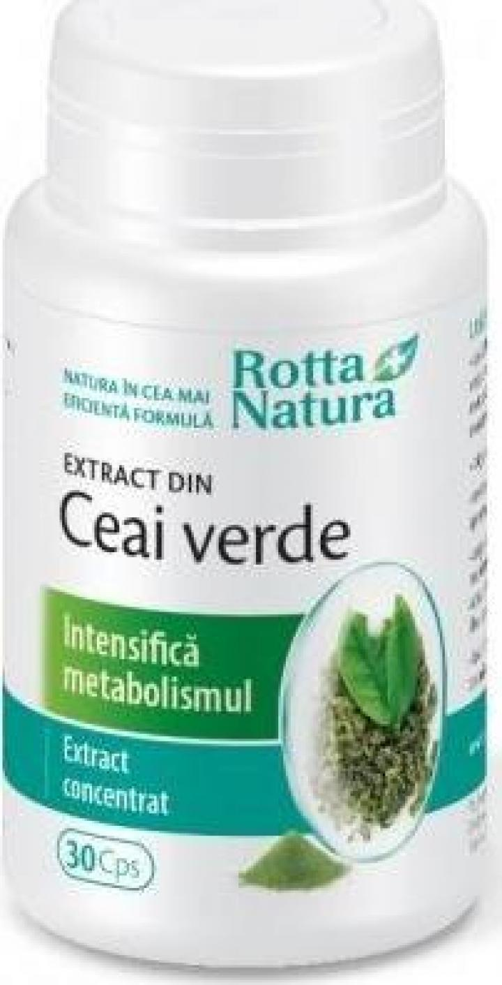 Supliment alimentar Extract din ceai verde - 30 cps