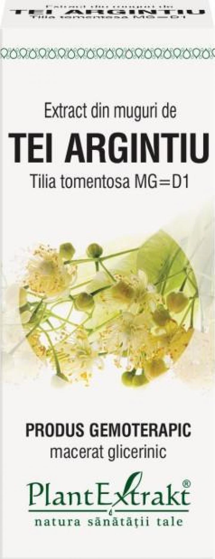 Extract din muguri de tei argintiu (Tilia Tomentosa)