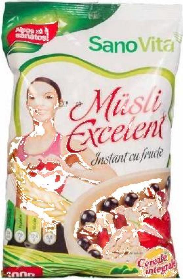 Cereale musli Excelent 500g