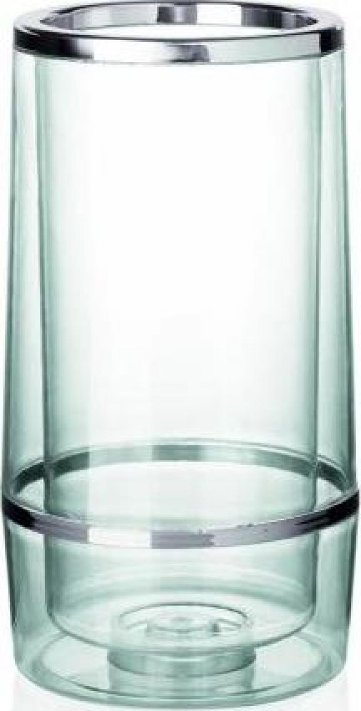 Racitor sticle din plastic transparent