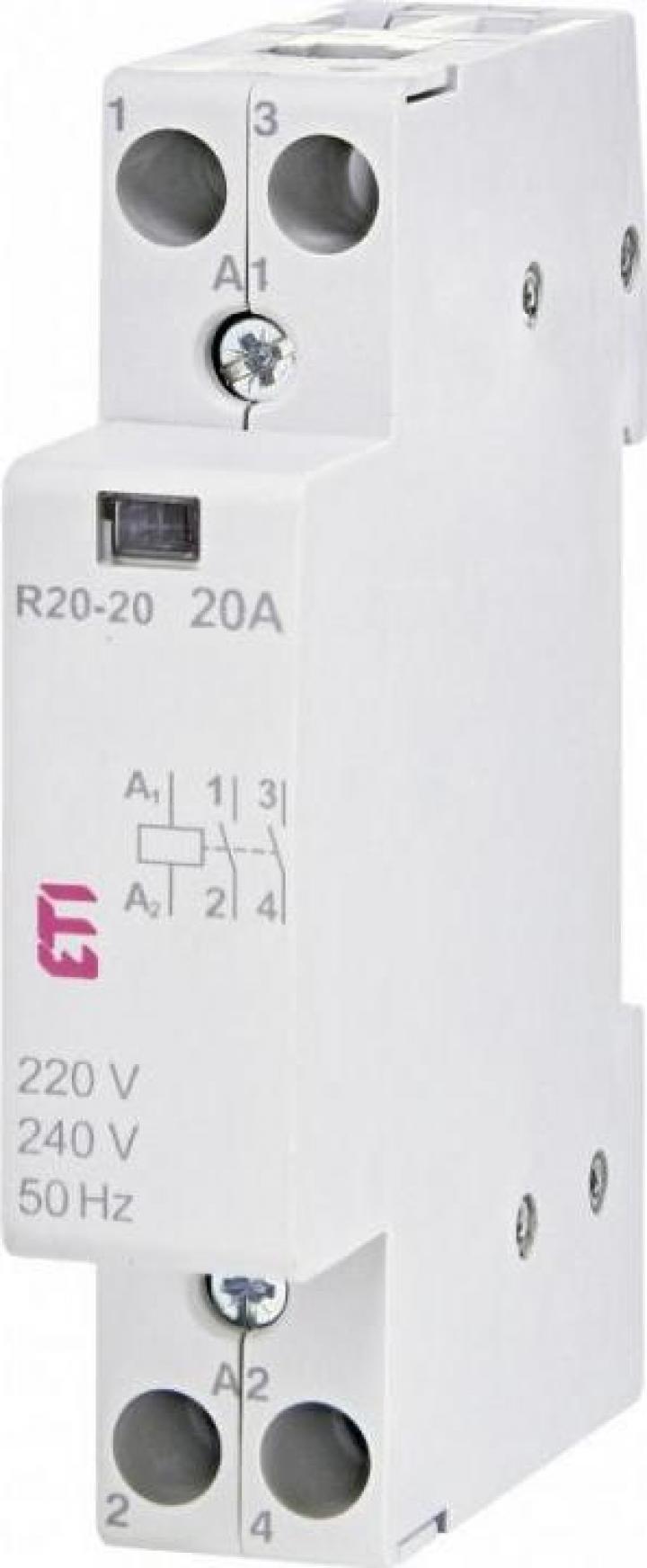 Contactor modular R 20-20 230V, ETI
