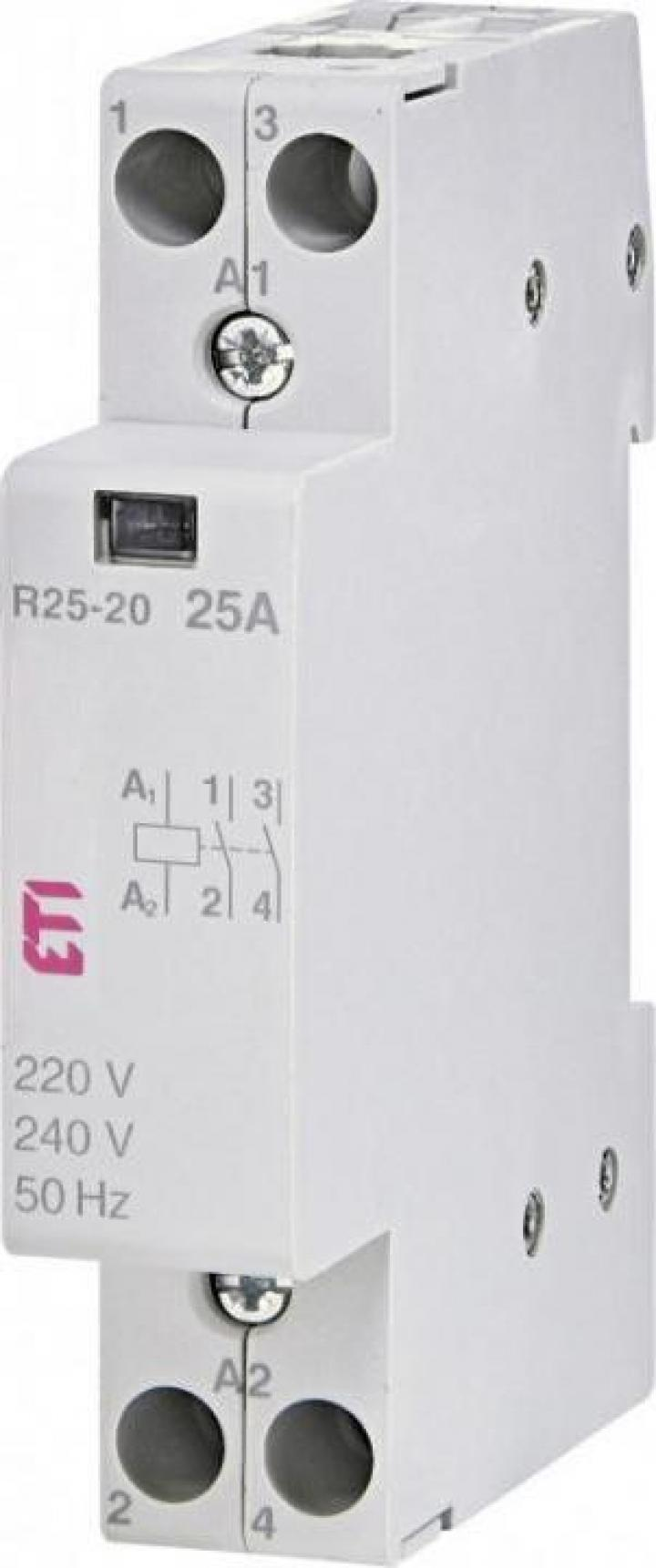 Contactor modular R 25-20 230V, ETI