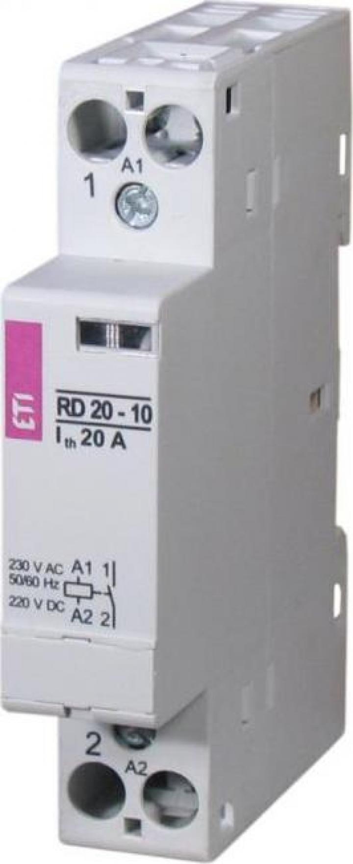 Contactor modular RBS225-10-24V AC ETI