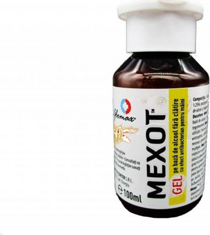 Gel dezinfectant pentru maini cu alcool Dr. Glomax - Mexot