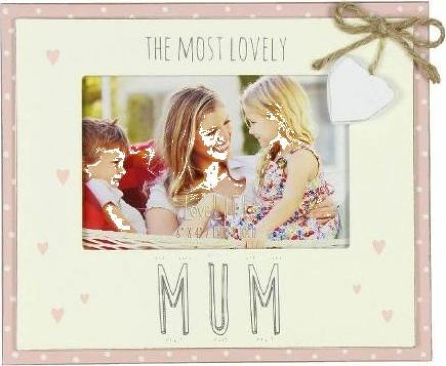 Rama foto cadou pentru mama Most Lovely Mum