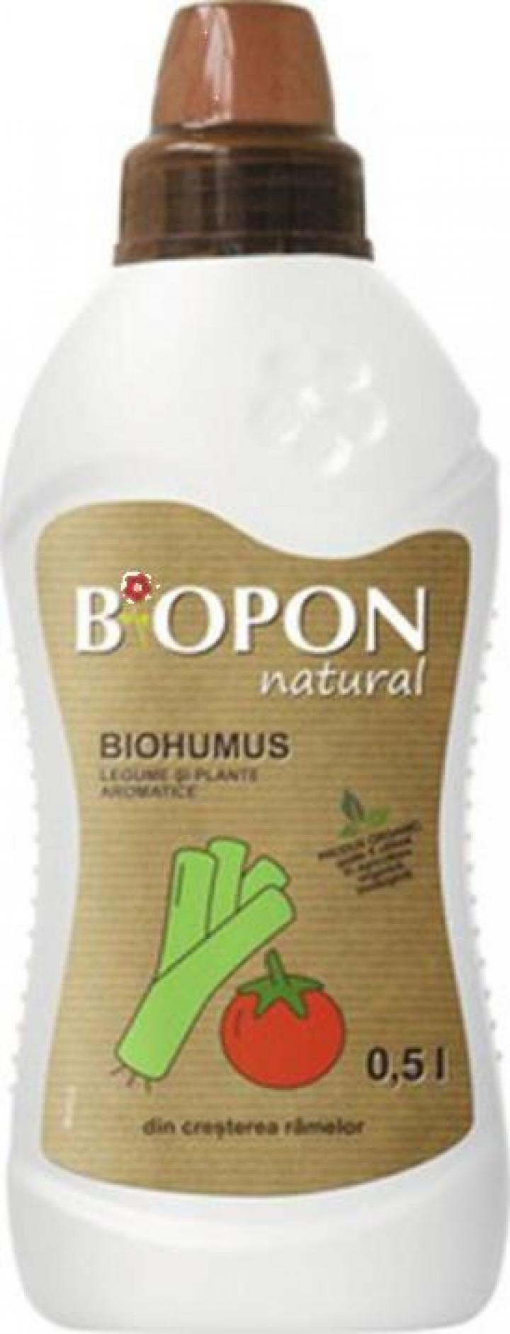 Ingrasamant natural Biohumus legume si plante aromatice