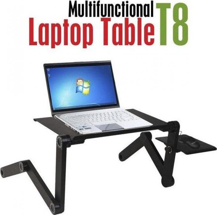Masuta reglabila si pliabila pentru laptop T8 cu 2 coolere
