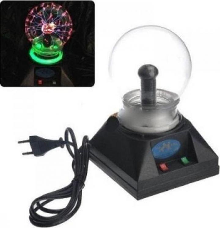 Glob sfera plasma decorativ 12.5cm 5 Inch