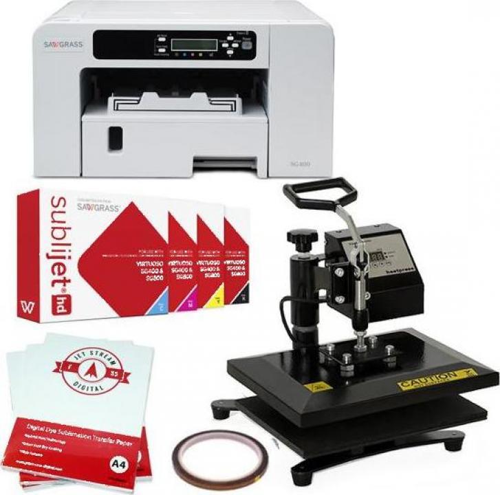 Set presa termica 30x23cm + imprimanta Virtuoso SG 400 DIN