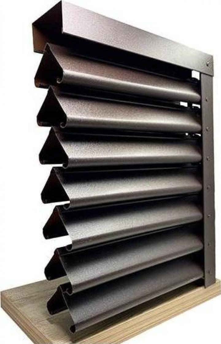 Gard metalic - Jaluzele Sigma 2000x1260 mm mat BGM 0.45mm
