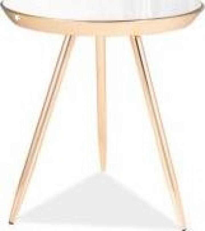 Masa de cafea Bora C oglinda/auriu FI 42