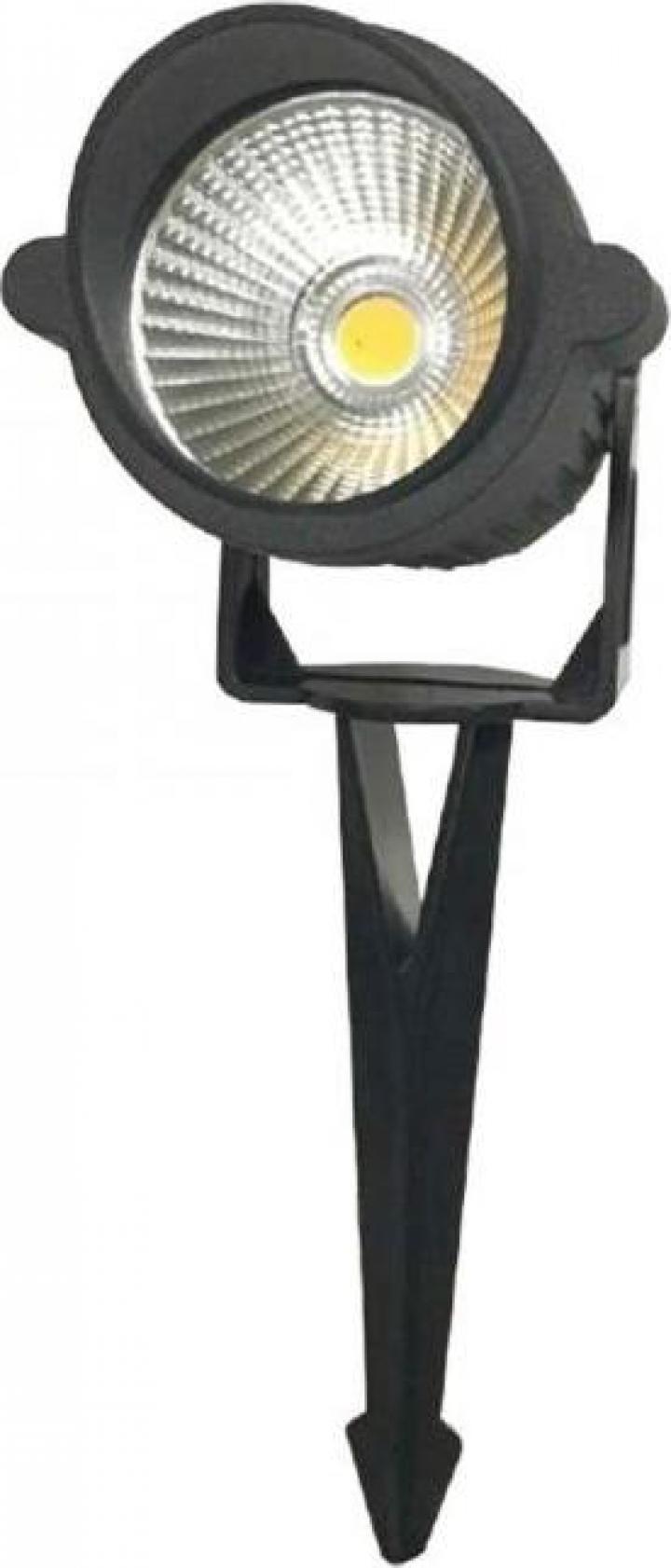 Corp iluminat pentru gradina 1xGU10, IP65, negru
