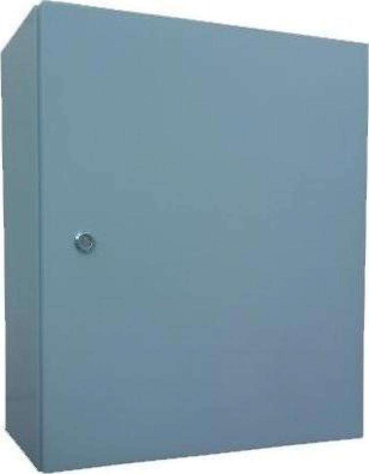 Panou metalic D:25x35x15 cm, culoare gri, IP54