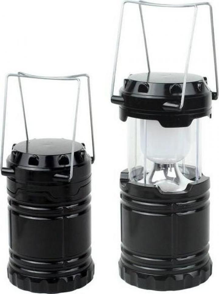 Lampa pliabila - felinar pentru camping cu Led