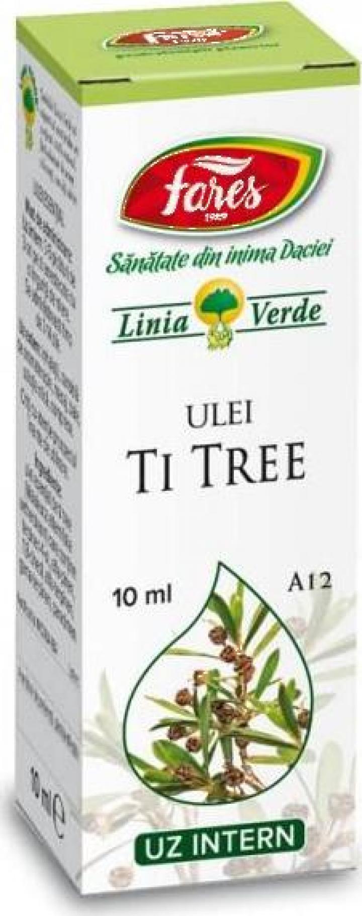 Ulei esential de Ti Tree A12 - 10 ml Fares